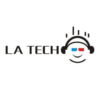 LA TECH耳机品牌标志设计